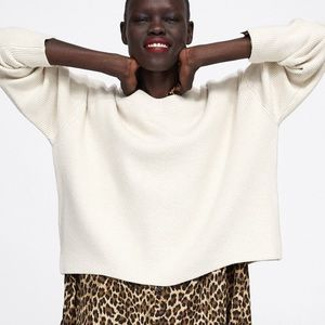Zara Premium Knit Sweater